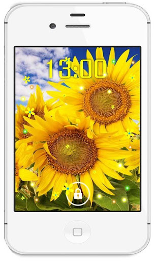 Sunflowers Gallery HD LWP