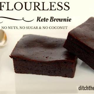 Flourless Keto Brownie.