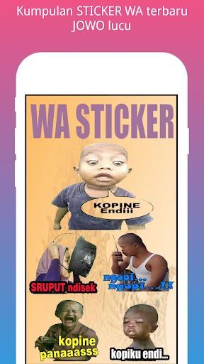 STICKER WA jowo screenshot 1