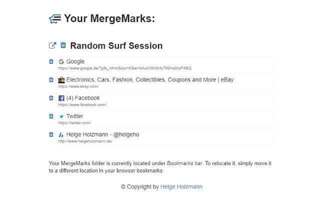 MergeMarks