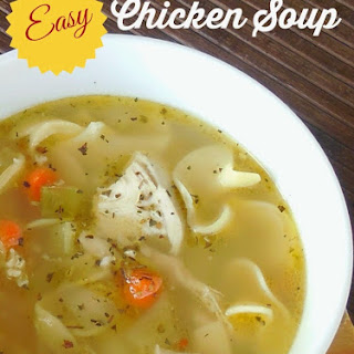 Easy Chicken Soup.