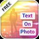 Name / Text on Photo (app)