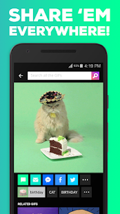 GIPHY. All the GIFS- screenshot thumbnail