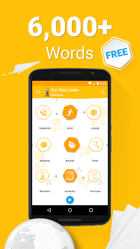 Learn Swedish 6 000 Words