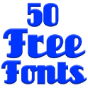 Fonts for FlipFont 50 #1 icon