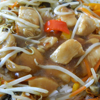Sweet and Sour Chicken Stir-Fry.