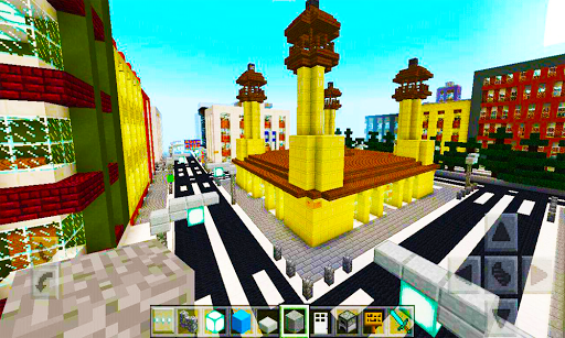 Map Footscray City for MCPE Сreation Сit for PC