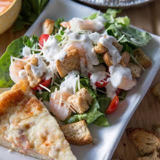 Shrimp Ceasar Salad.