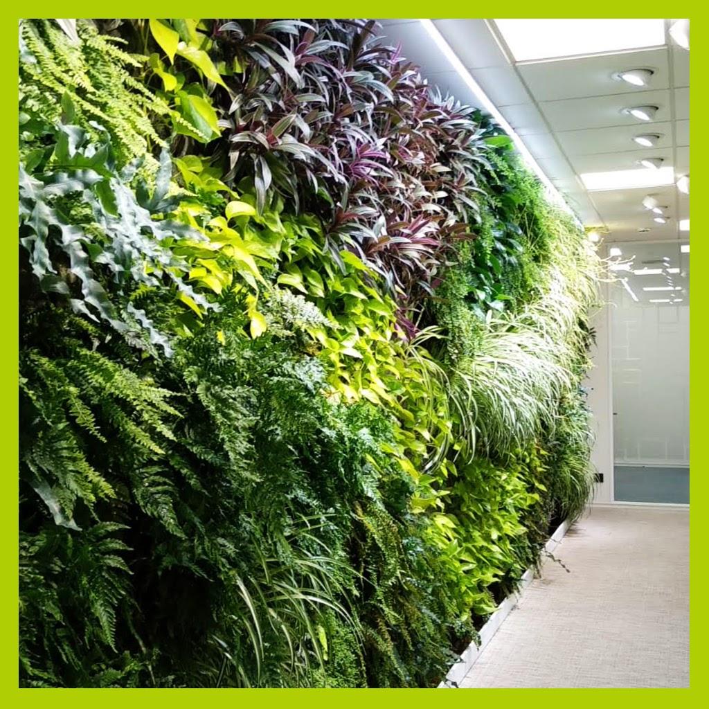 Jardines verticales de interior en oficinas de Madrid