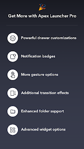 Apex Launcher Pro APK + Apex Notifier [Latest] 6