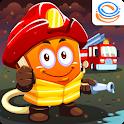 Marbel Firefighters - Kids Heroes Series icon