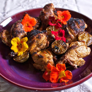 Grilled Achiote-Lime Chicken.