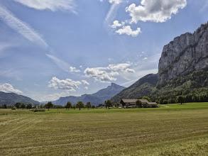 Photo: An der Drachenwand in der Nähe von Thalgau / Mondsee. Auch hier super Radwege und ruhige Nebenstaßen.