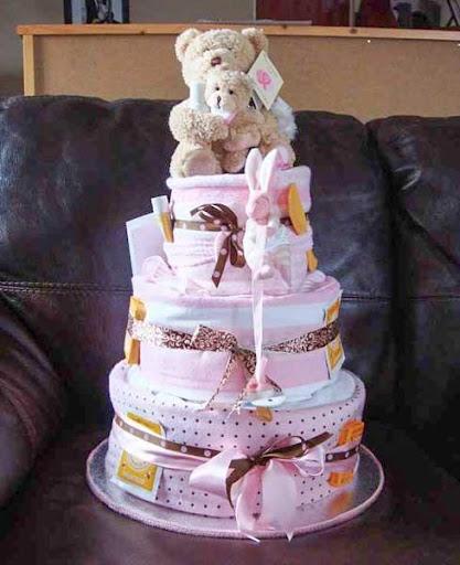 尿布蛋糕工艺