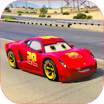 Splashy Superhero Vertigo racing : lightning car 1.3