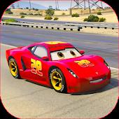 Splashy Superhero Vertigo racing : lightning car