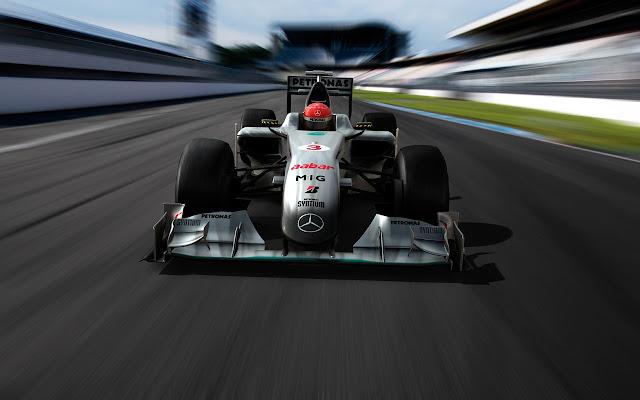 Mercedes AMG Petronas Motorsport Tab