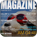 Magazine Total launcher theme
