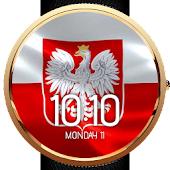 Animated Polish Flag Watchface