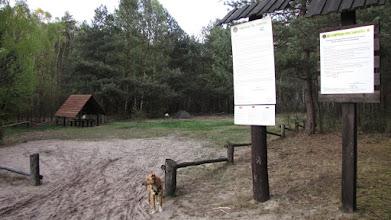 Photo: Pole namiotowe w Posadzie Łubiec