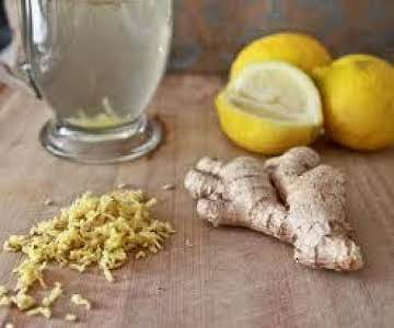 Citrus Ginger Infused Water