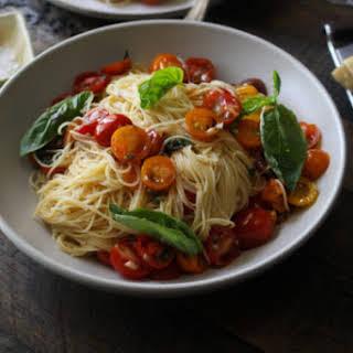 Angel Hair Pasta with Summer Tomatoes (Pasta al Pomodoro Crudo).