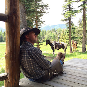 Colorado Cowboy  by Ginny Serio - Instagram & Mobile iPhone (  )