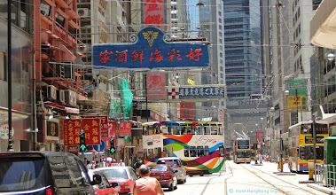 Photo: Hong Kong street car
