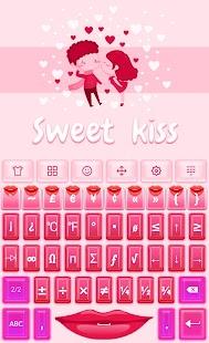 Sweet Kiss? Keyboard - náhled