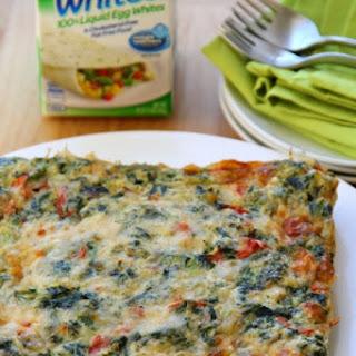 Egg Whites Frittata Bites.