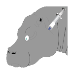 Catch Hippopotamus Icon
