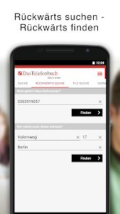 Das Telefonbuch – mobile Auskunft & Guide - náhled