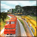 Indian Train Driving 2019 - Free Train Games icon