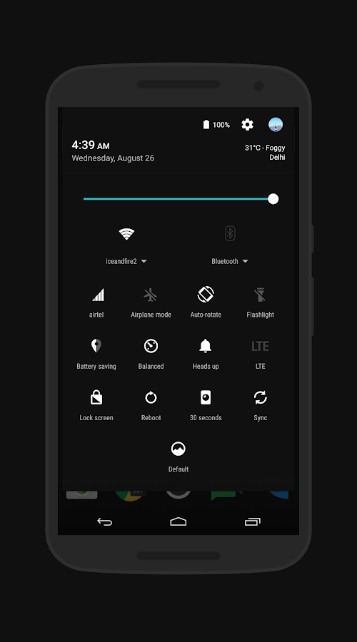 aRgon - Layers Theme- screenshot