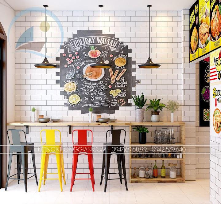 thiết kế cửa hàng gà rán đài loan 4