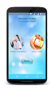 ReXi: E-Prescription Maker screenshot 0