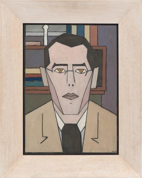 Hendrik Valk, Self-portrait, 1919