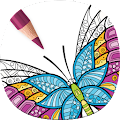 Adult Butterfly Coloring Pages APK