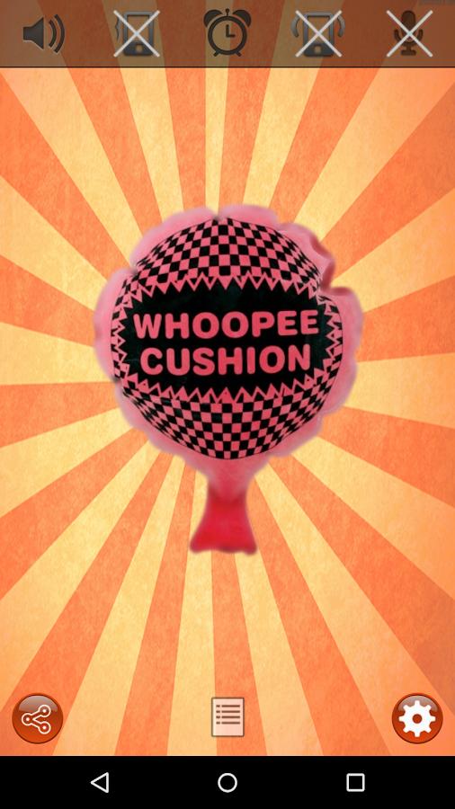 Whoopee cushion (fart-machine)- screenshot
