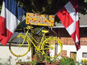 Photo: sortie étape du tour Le Semnoz le 23/7/2013