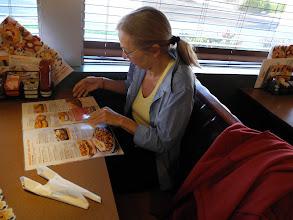 Photo: Midge -- does Denny's do vegan?