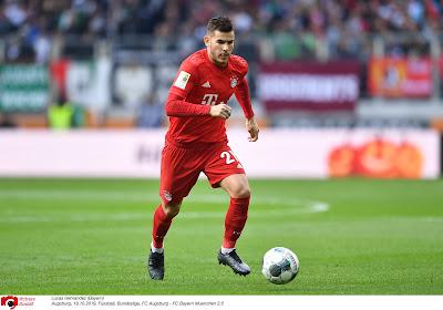 Bayern München geeft meer uitleg over de blessure van Lucas Hernandez
