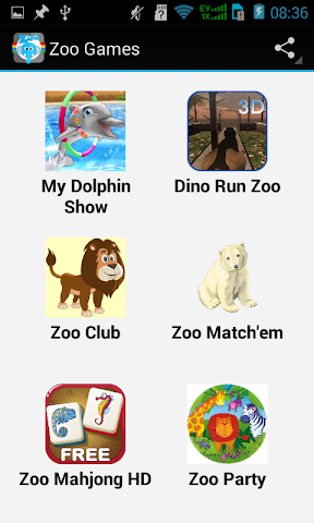 android Top Zoo Games Screenshot 1
