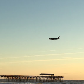 Myrtle Beach by Jolene Tirado - Transportation Airplanes