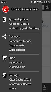 Lenovo Companion – Mobile screenshot 03