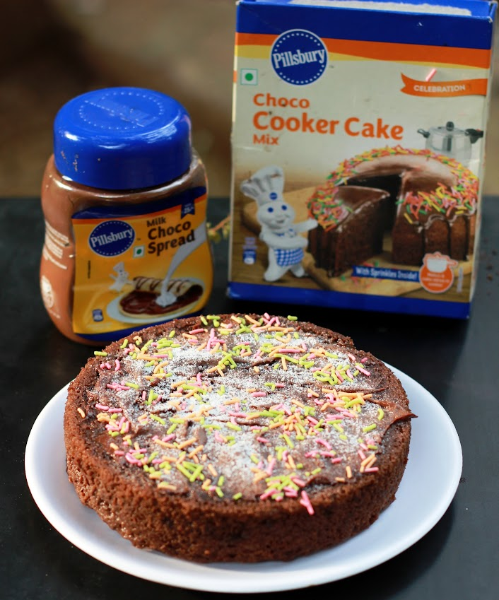 Pillsbury Choco Cooker Cake Recipe