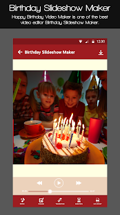 Birthday Slideshow Maker- screenshot thumbnail