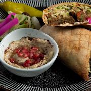 The Real Falafel Wrap