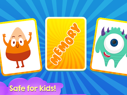 Memory Game for Children - Funny Monsters - náhled