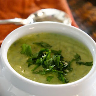Avocado-Tomatillo Soup with Lime